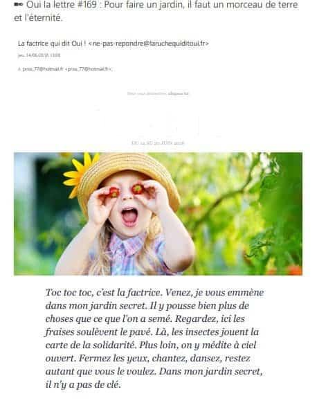 Newsletter La Ruche 2