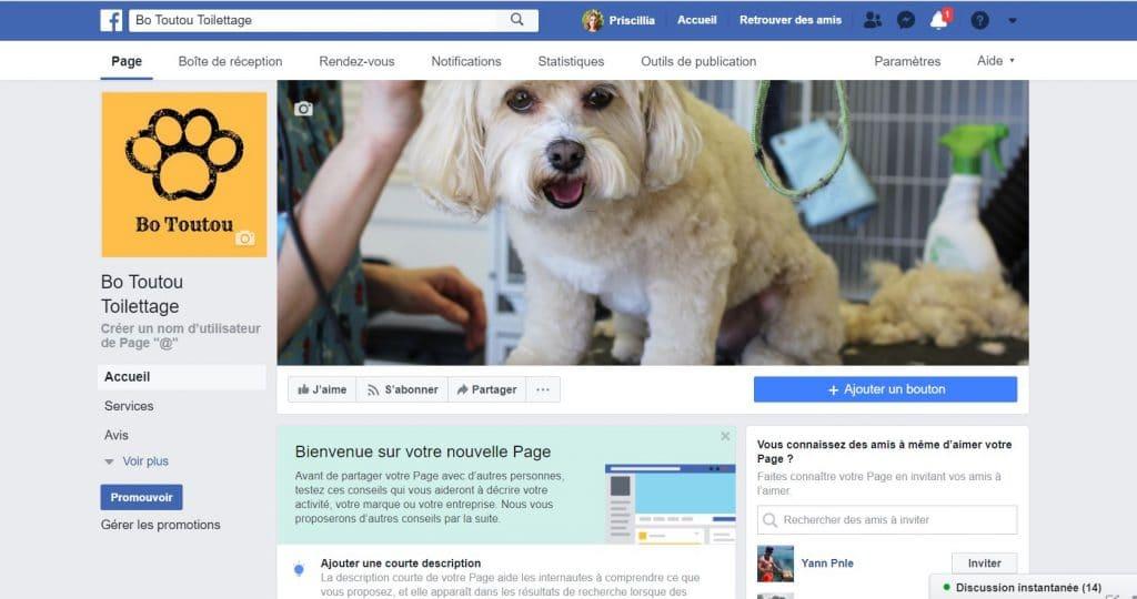 Créer sa page Facebook pas à pas