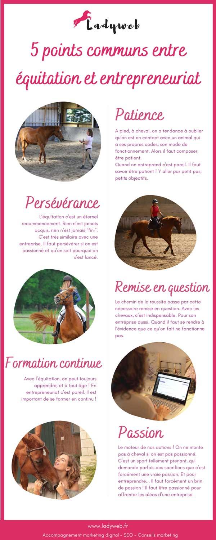 5 points communs entre équitation et entrepreneuriat