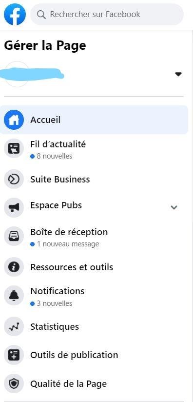 outils de publication facebook